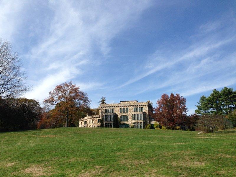 Ames Mansion at Borderland State Park