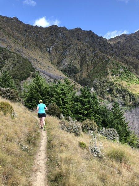Beneath the S ridge of Ben Lomond