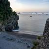 Private Beach at La Fenice Amalfi Coast.