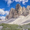Completing the Tre Cime circuit