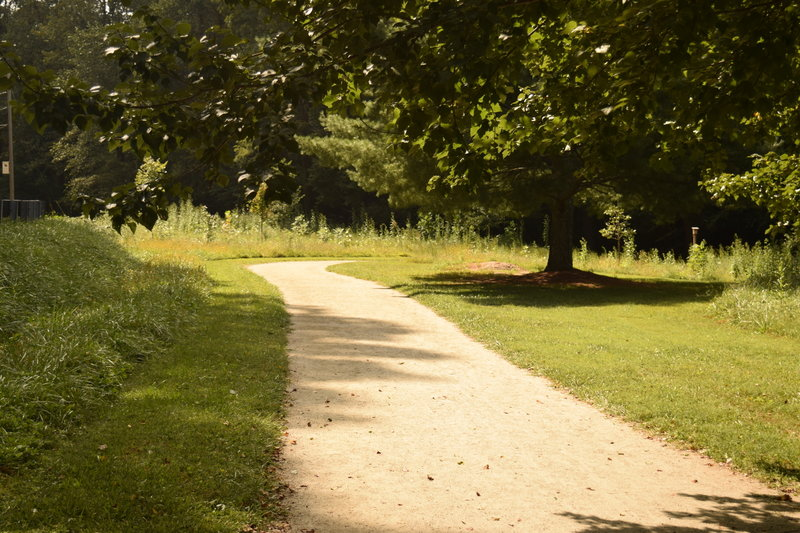 Enjoy a peaceful walk through The Park at Flat Rock!