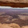 Buck Canyon through Mesa Arch