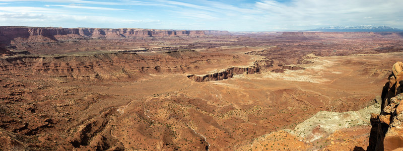Gooseberry Canyon from White Rim Overlook