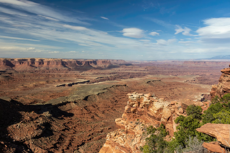 Gooseberry Canyon from the Island in the Sky