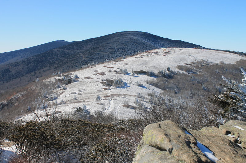 View from Grassy Bald Roan Mountain 1/22/2020.