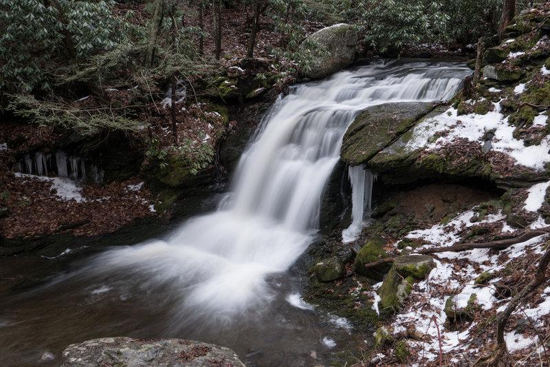 Slateford Creek Waterfalls