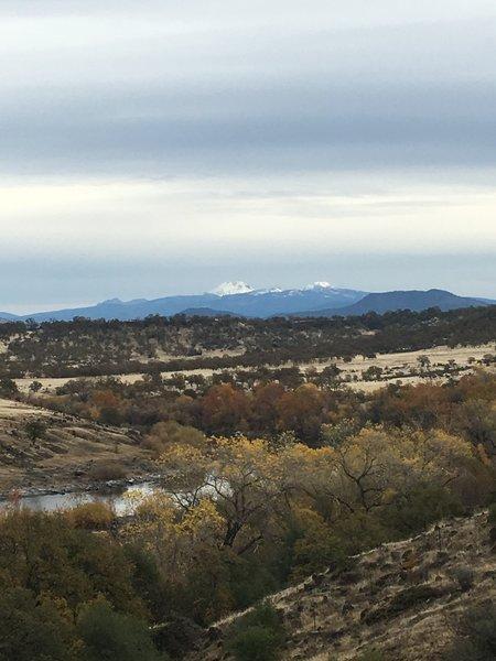 View of Mt Lassen