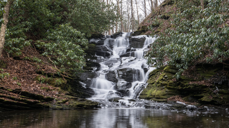 Slateford Creek Falls (Upper Falls)