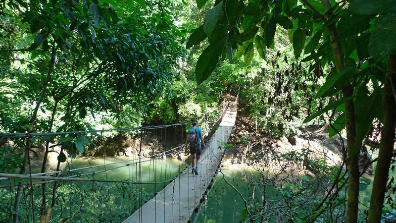 Bridge at Rio Aguitas