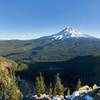 Mt Hood and Mirror Lake from TDH