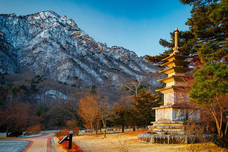 Sunrise at Seoraksan National Park