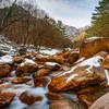 Long Exposure of the Valley in Seoraksan National park