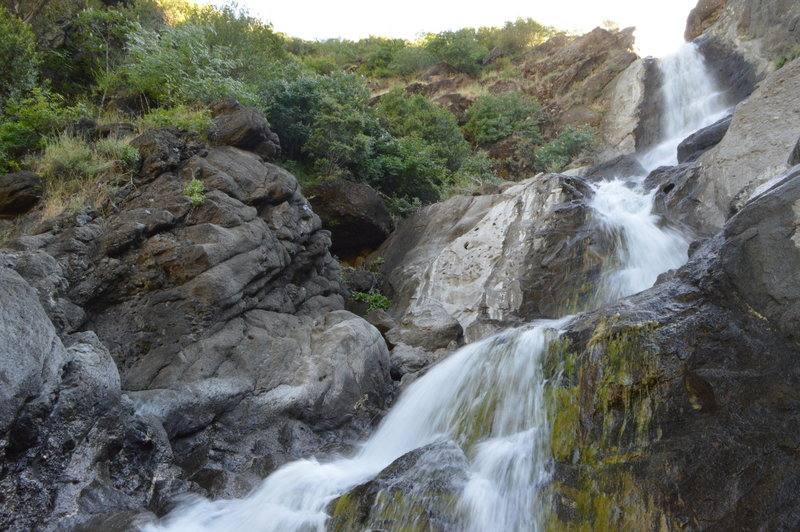 Zim Zim Falls along ZimZim Creek in northern Napa County