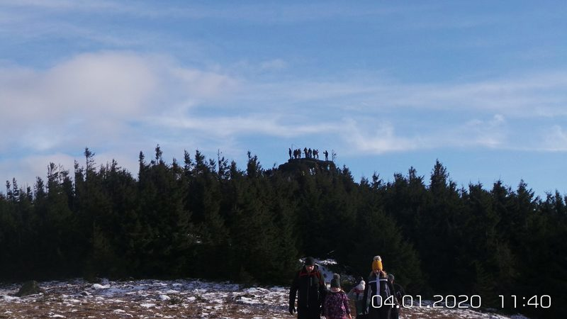Pod vrcholovým bralom Volovec Skalisko
