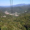 View from the Tram Toward Gatlinburg