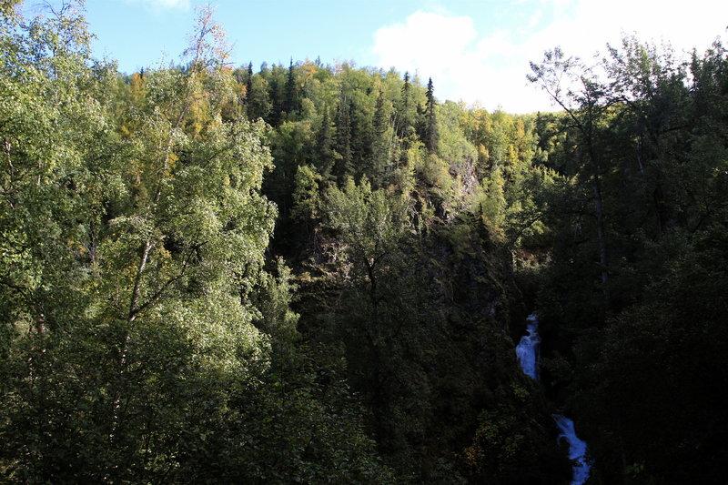 Overlook of Thunderbird Falls