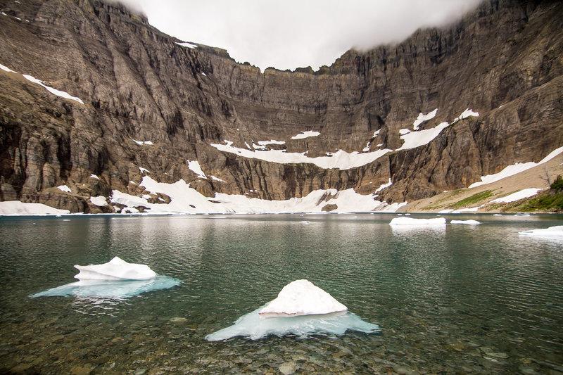 Iceberg Lake, Glacier National Park. NPS Photo/David Restivo