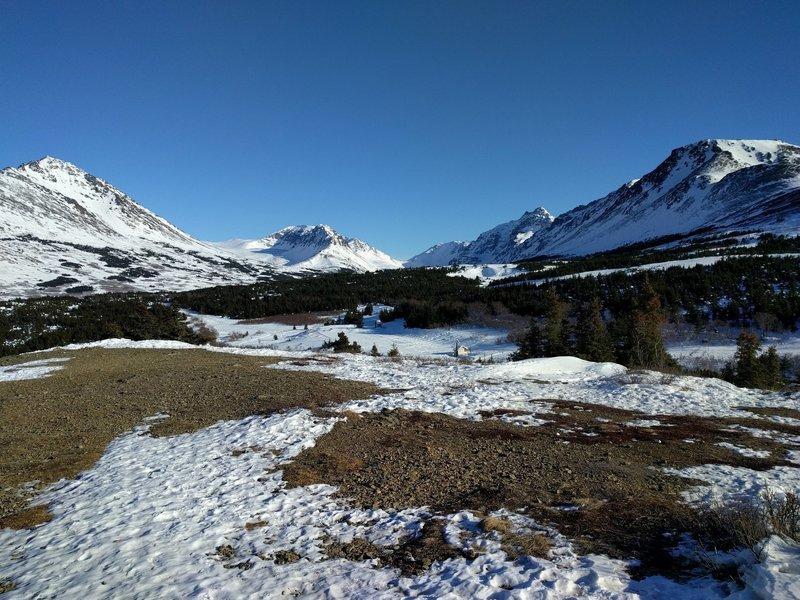 Glenn Alps trailhead