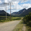 Powerline Pass Trail at Glen Alps. Chugach State Park, Alaska