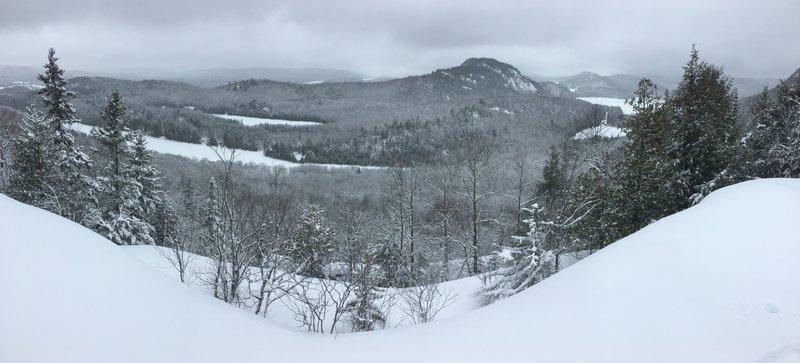 Beautiful view of the mountain range.