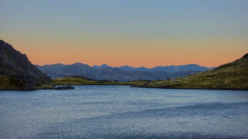Lake Angelus at Dusk