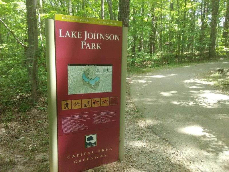 Lake Johnson Kisok