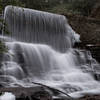 The 15-foot tall waterfall over Stametz Dam - Hickory Run, PA.