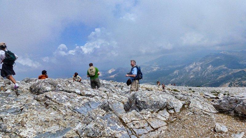Mount Zas summit.