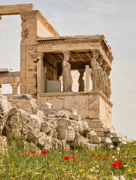 Erecteión, Acrópolis