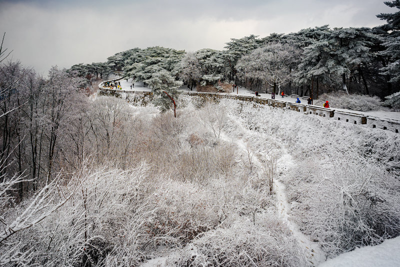 Namhansanseong Fortress wall trail