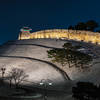 Hwaseong Fortress after a fresh snow.