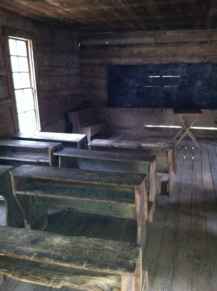 Student Perspective inside the Greenbrier School