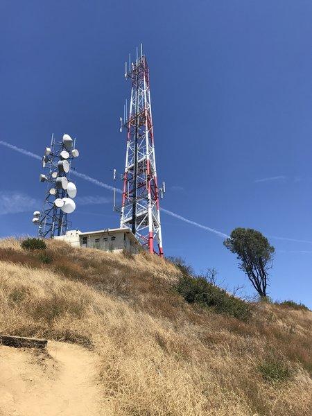 Radio Tower Atop Vital Link Trail