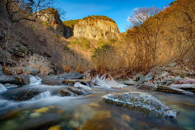 River Valley of Juwangsan National Park