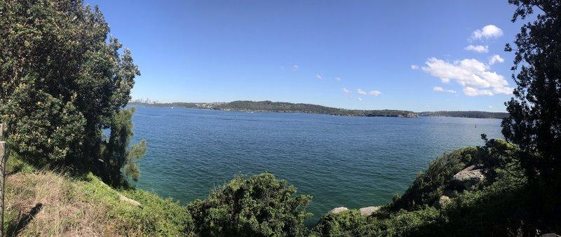 South Head, looking toward city, Taronga Zoo and Balmoral