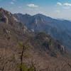 Somehwat rocky but generally mild terrain