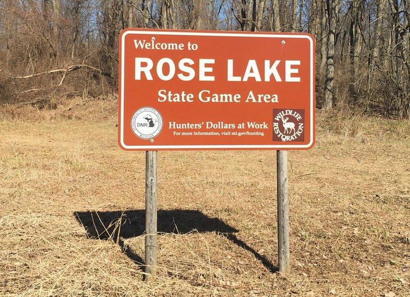 Rose Lake State Game Area