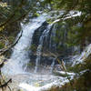 """Middle Siouxon Falls from near a nice lunch spot on the """"beach"""""""