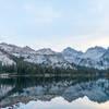 Toxaway Lake at Sunrise.