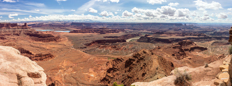 Vast views from Dead Horse Point Overlook