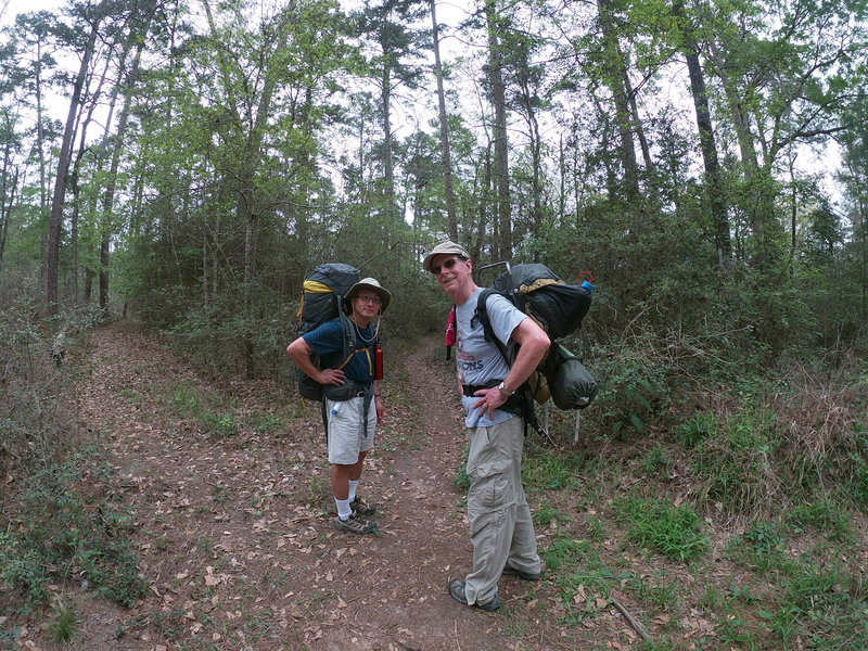 Local backpackers