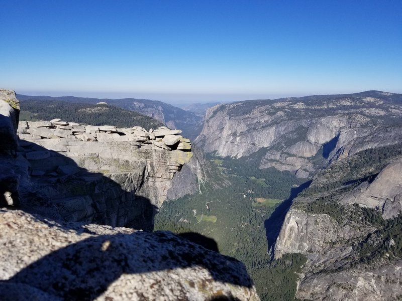 July 5, 2018 On top of Half dome