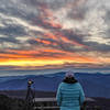 sunrise at Waterrock Knob
