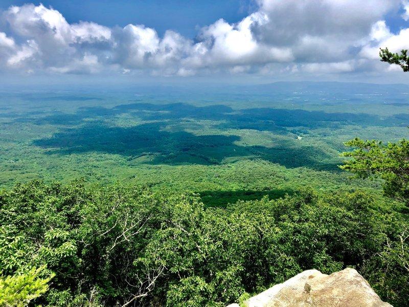 From Cheaha Mountain, Alabama
