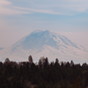 All these clear days are giving us great views of Mt. Rainier.
