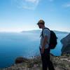 Santorini Caldera hiking trail