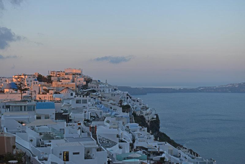 Greece - Santorini - Fira sunrise