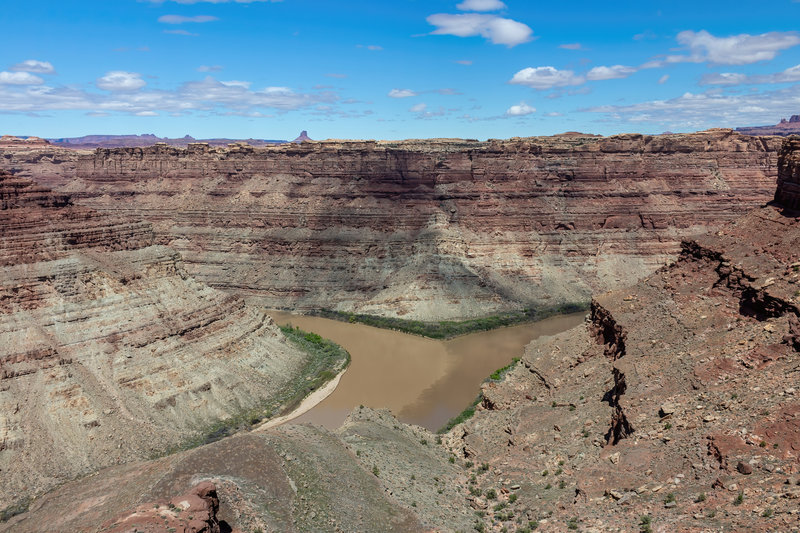 Confluence of Green River and Colorado River