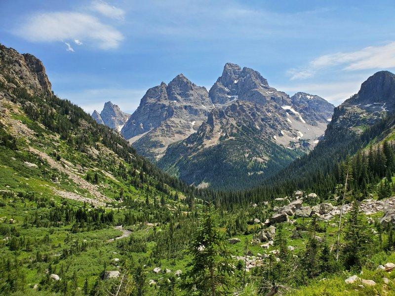 The Teton Peaks