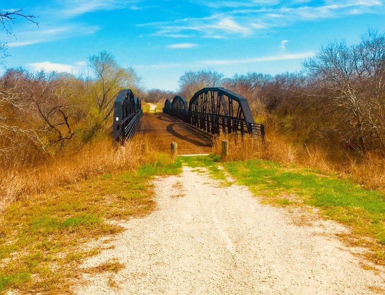 """The """"Long Black"""" bridge"""